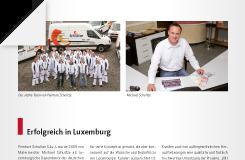 Presseartikel – Erfolgreich in Luxembourg