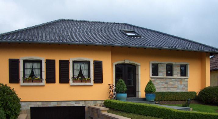 Fassadengestaltung Farbe – Wohn-design