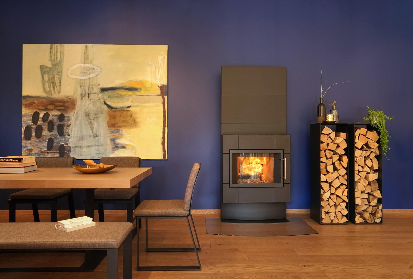 Beispielhafte Innenraumgestaltung Feuerloft Luxemburg
